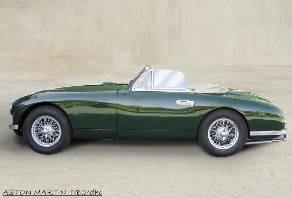 Melliroberto It 187 Aston Martin Db2 Dhc